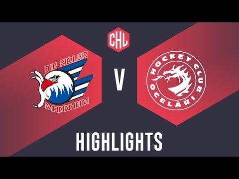 Highlights: Adler Mannheim vs. Oceláři Třinec
