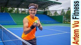 Виртуальный Тренер по Теннису! Обзор Сенсора Zepp Как Усилить Подачу в Теннисе Уроки Тенниса