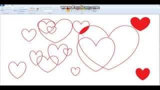 Как в Paint сделать очень красивую открытку любимому человеку)(В этом видео я покажу как в Paint сделать очень красивую открытку любимому человеку) Подписывайся и в коментах..., 2014-09-12T12:38:25.000Z)