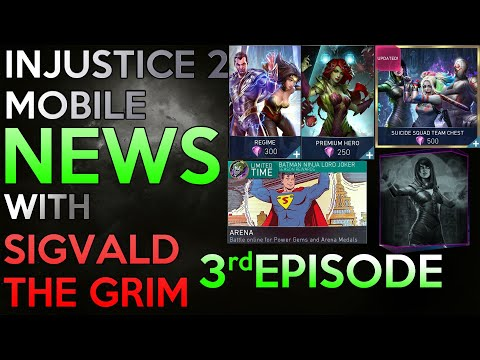 INJUSTICE 2 MOBILE NEWS EPISODE 3 (AND SECONDARY ACCOUNT UPDATES)