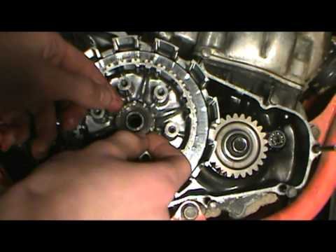 CR500 Disassembly Pt. 3 Right Case And Clutch