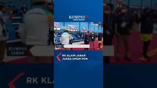 RK KLAIM JABAR JUARA UMUM PON #SHORTS