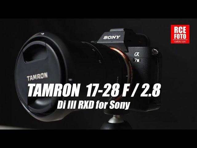 Recensione Tamron 17-28 F/2.8 per Sony