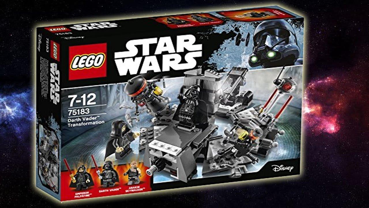 Star Wars La Transformation De Dark Vador Lego 75183
