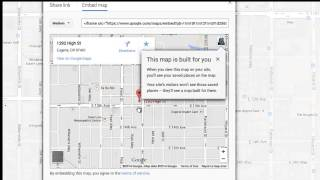 How to Add a Google Map to Your Website Free HD Video