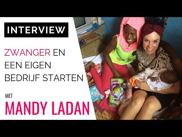 Founder Mandy Ladan: Zwanger En Een Eigen Bedrijf Starten