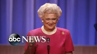 Barbara Bush in failing health, stops medical treatment