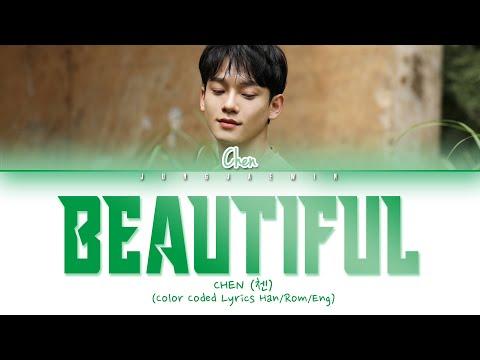 CHEN (첸) - Beautiful (아름다워) (Heart 4 U OST) Lyrics [Color Coded/HAN/ROM/ENG]