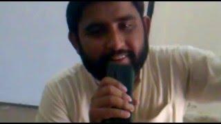 shafqat gujjar live performing... asi ishq da dard jaga bethy