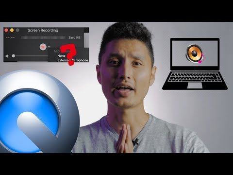 How To Record Internal Audio With QuickTime Player Screen Recording
