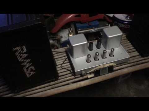6BM8 PP AMP Made in Japan