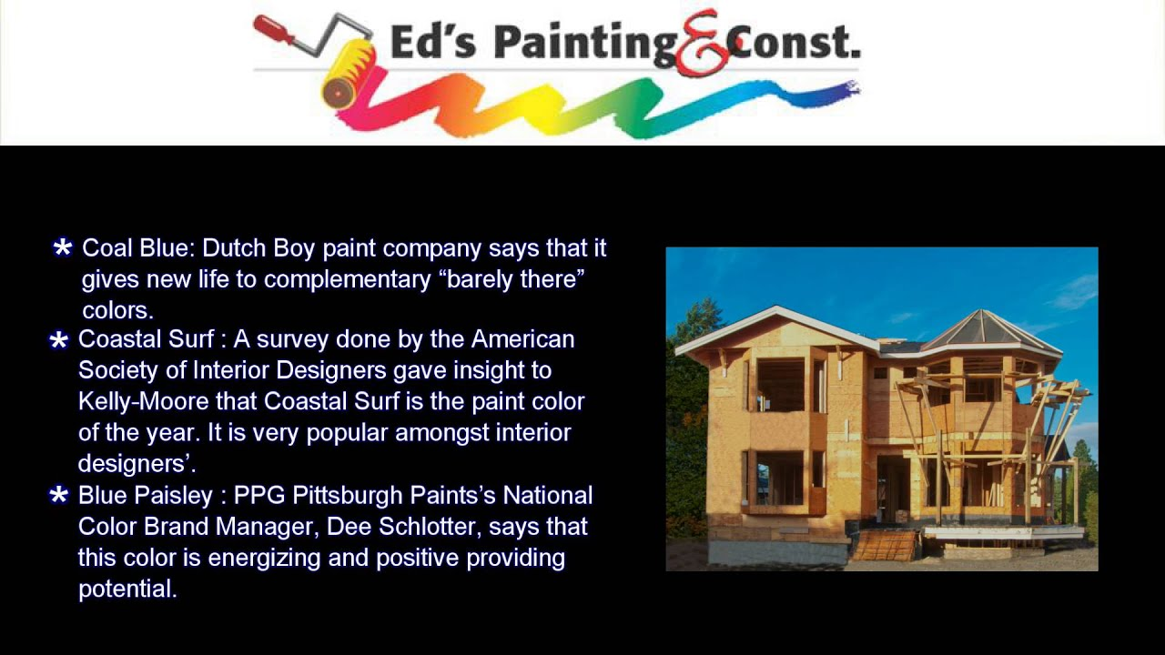 latest paint color trends for your home youtube latest paint color trends for your home