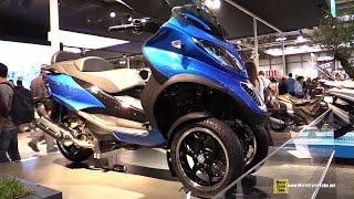 2015 Piaggio MP3 500LE Scooter - Walkaround - 2014 EICMA Milan Motorcycle Exhibition