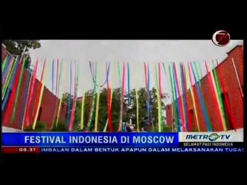 RAMAI! Festival Indonesia di Moskow rusia