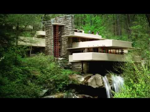 la casa sulla cascata frank lloyd wright youtube