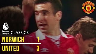 Norwich City 1-3 Manchester United (92/93) - Premier League Classics