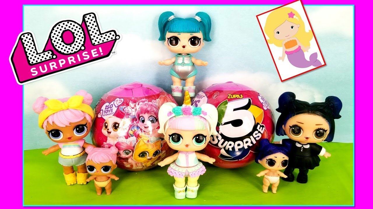 Lol Surprise Dolls Unicorn Glamstronaut Dusk Dawn Open Pink Zuru