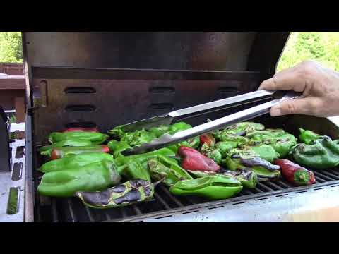 How to Roast and Freeze Poblano and Anaheim Peppers