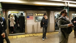 bmt 4th avenue line rare riding r46 r express train from atlantic av to 36 st 4 20 17