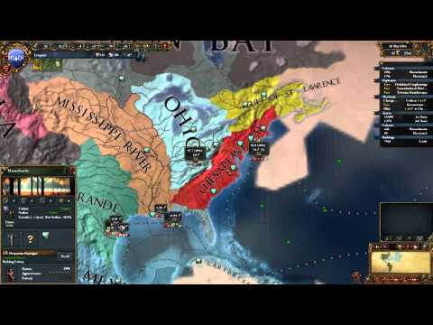 Europa Universalis 4 | The High Americans | Part 7 | Exploring The Gulf of St. Lawrence