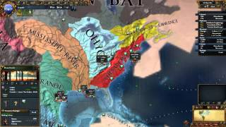Europa Universalis 4   The High Americans   Part 7   Exploring The Gulf of St. Lawrence