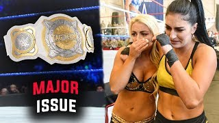One Major Problem w/ The New WWE Women's Tag Titles Means BAD NEWS For The Champions - WWE RAW