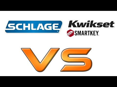 SCHLAGE vs KWIKSET - Best Deadbolt Lock & How to Install