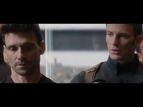 Elevator Fight Scine - Captain America:The Winter Soldiers (2014) Movie Clips