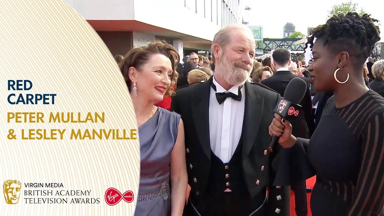 Download Peter Mullan & Lesley Manville Talk About Mum | BAFTA TV Awards 2019