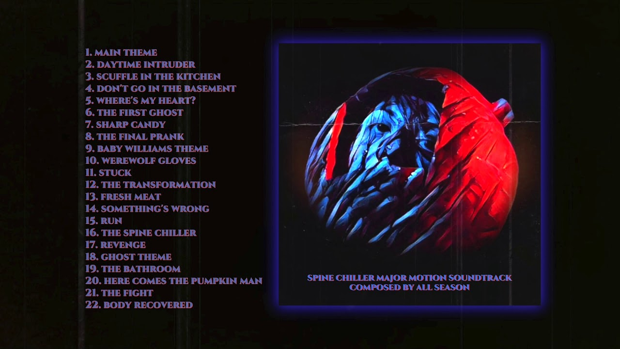Spine Chiller | Soundtrack by Jacob Perrett