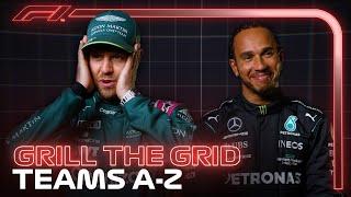 Grill The Grid 2021: Teams A-Z