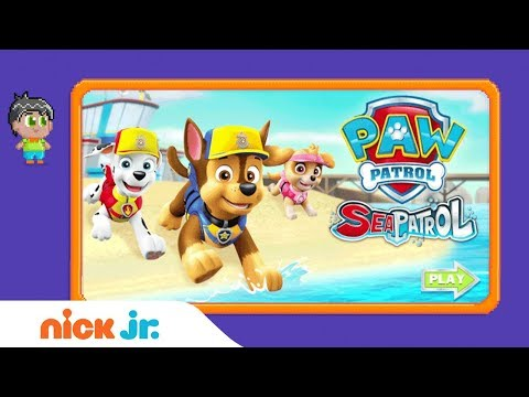 PAW Patrol: 'Sea Patrol' Game Walkthrough 🐾  | Nick Jr. Gamers