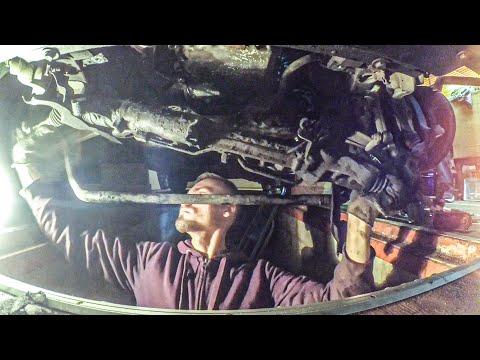 BMW 5 GT ремонт рулевой рейки самостоятельно