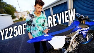 FULL REVIEW: My New 2018 YZ250F
