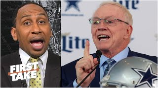 Stephen A. is defiant about the Cowboys drafting a QB in the 1st Round | First Take