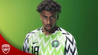 Alex Iwobi 🇳🇬 • Magic Skills Show