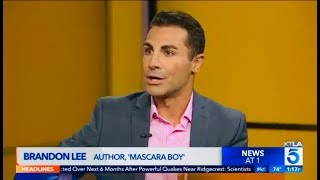 Brandon Lee talk about overcoming addiction on KTLA 5 News in LA