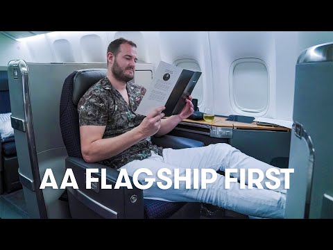 American Airlines 777-300 Flagship First Flight Review