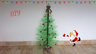 DIY Especial de Natal 2018 #2🎄🎅Árvore de natal feita com garrafas pet