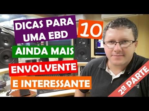 10 Dicas para uma EBD ainda mais POWER - Parte II