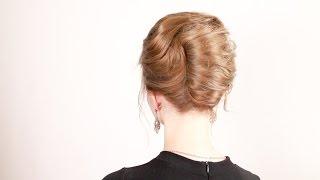 """Прическа """"ракушка"""". Shell Hairstyle"""