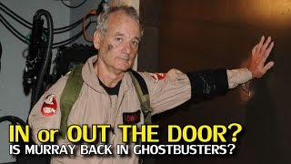 Bill Murray, and his strenuous relationship with the Ghostbusters