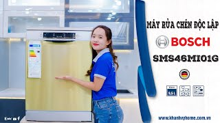 Review máy rửa chén Bosch serie 4 SMS46MI01G