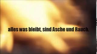 Johannes Oerding - Alles Brennt - Lyrics on Screen
