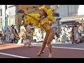 【4K】自由の森学園 サンバ音楽隊 Asakusa Samba Carnival 2018 浅草サンバカーニバル 桑巴舞 삼바 댄스