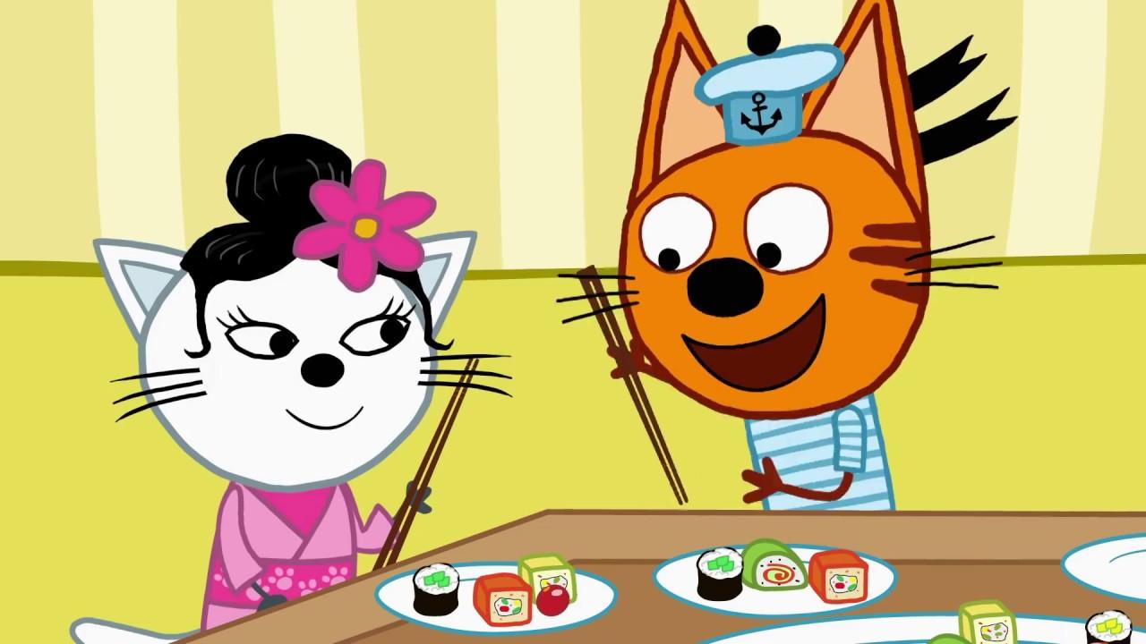 Три кота | Заморские гости | Серия 111 | Мультфильмы для ...