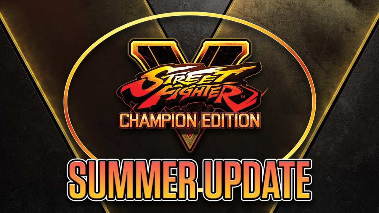 Street Fighter V Summer Update 2020