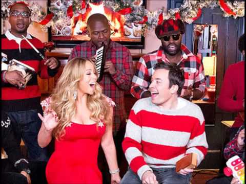 Mariah Carey Vocal Showcase : All I Want For Christmas Is You Live Jimmy Fallon 2012 (G3 - A5)