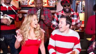 mariah carey vocal showcase all i want for christmas is you live jimmy fallon 2012 g3 a5