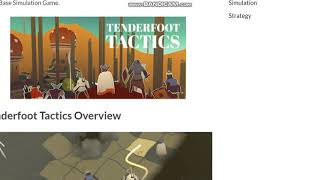 Tenderfoot Tactics PC Game Free Download